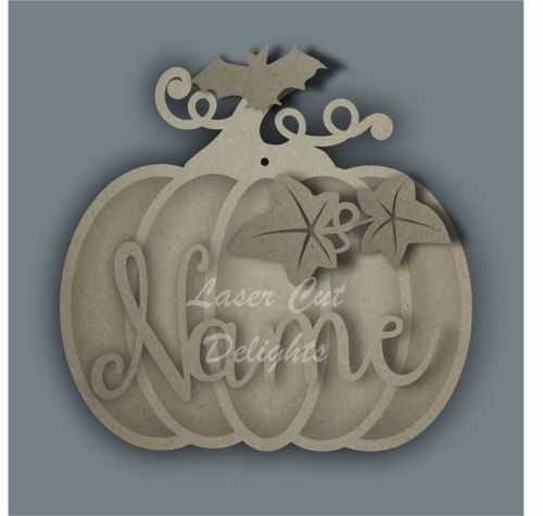 Pumpkin Layered Bauble / Laser Cut Delights