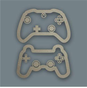 Games Controller Stencil / Laser Cut Delights