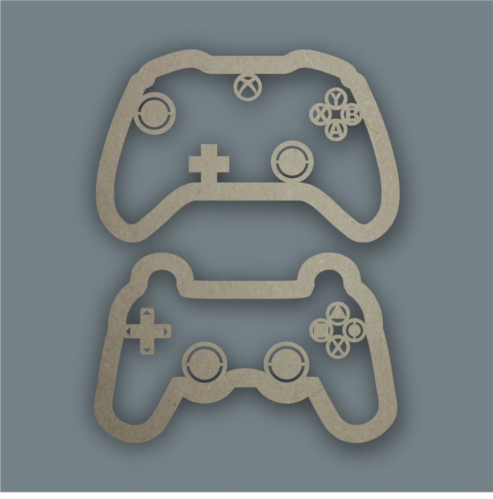 Games Controller Stencil / Laser Cut Delights