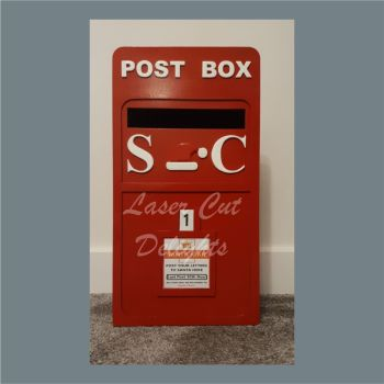 Post Box - Christmas / Laser Cut Delights