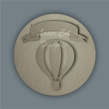 Banner Hot Air Basic Balloon / Laser Cut Delights