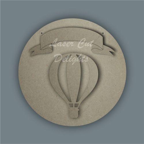 Hot Air Balloon Banner / Laser Cut Delights