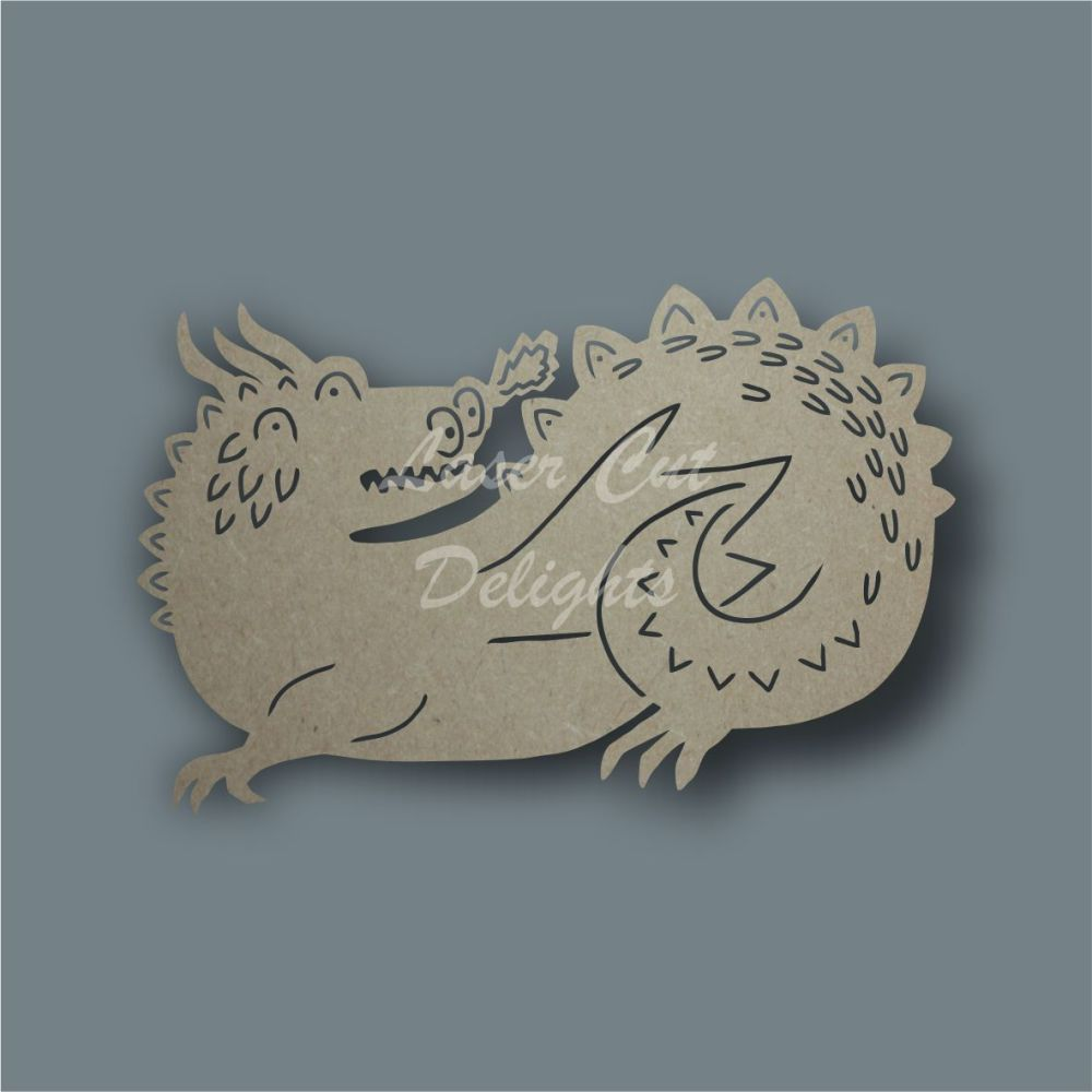 Shadow Puppet Dragon / Laser Cut Delights