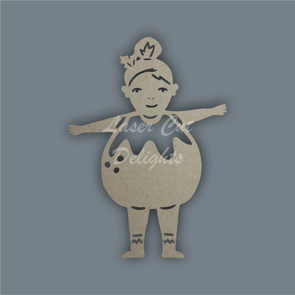 Shadow Puppet Pudding Child / Laser Cut Delights