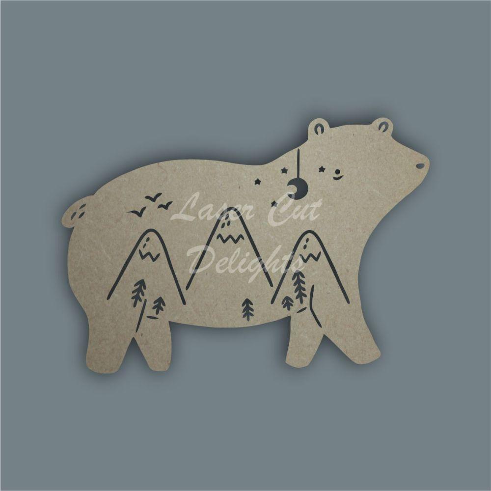 Shadow Puppet Bear / Laser Cut Delights
