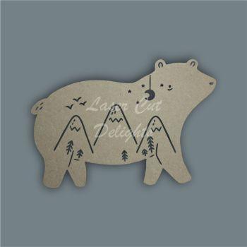 Bear Mandala Alternative / Laser Cut Delights