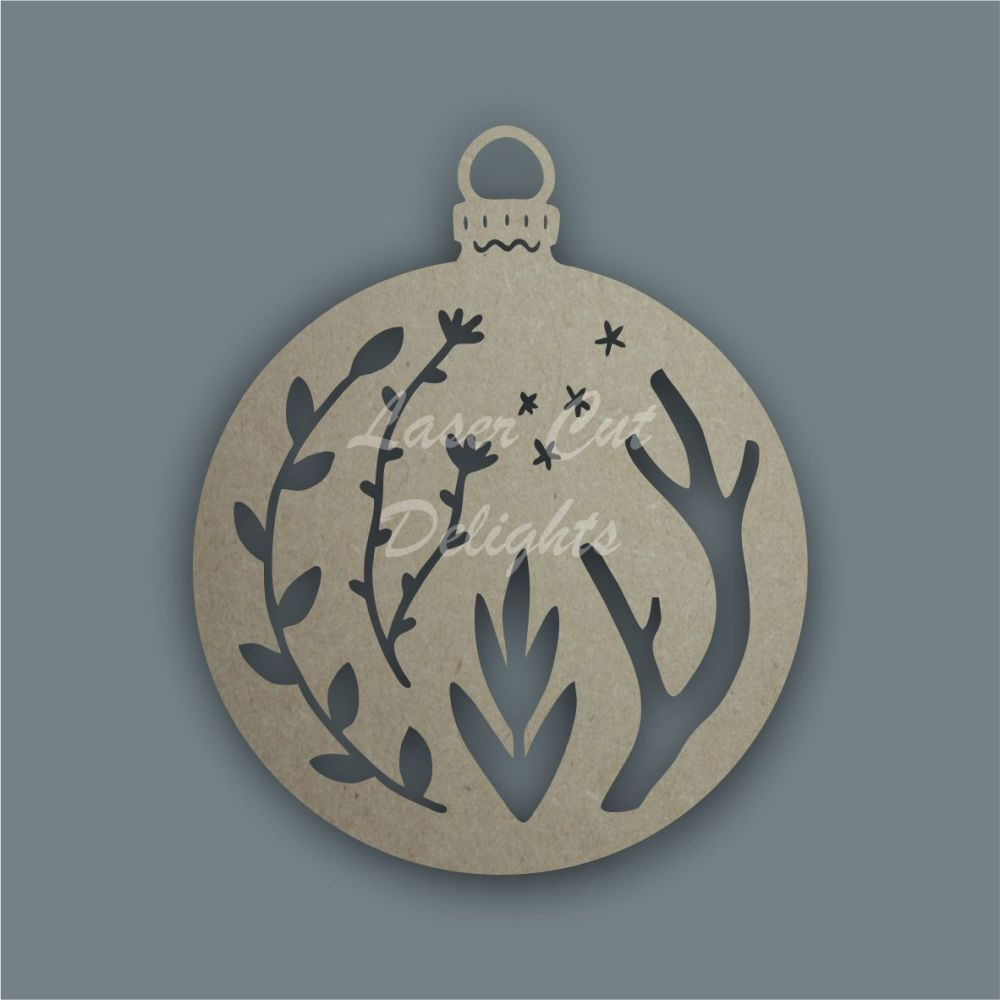 Bauble Mandala Alternative / Laser Cut Delights