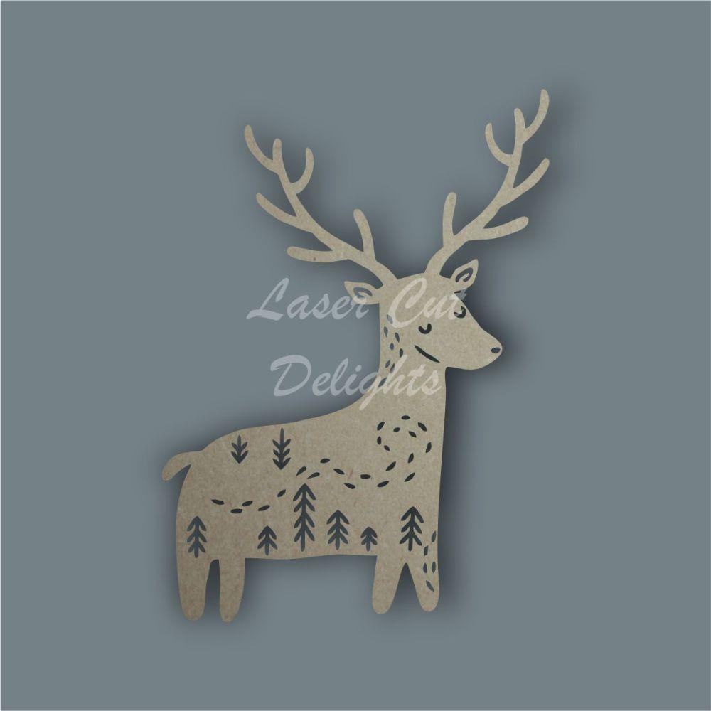 Shadow Puppet Reindeer / Laser Cut Delights