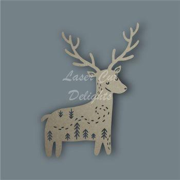 Reindeer Mandala Alternative / Laser Cut Delights