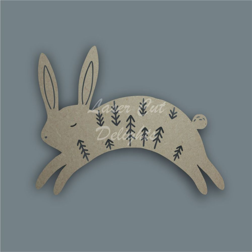 Bunny Rabbit Mandala Alternative / Laser Cut Delights