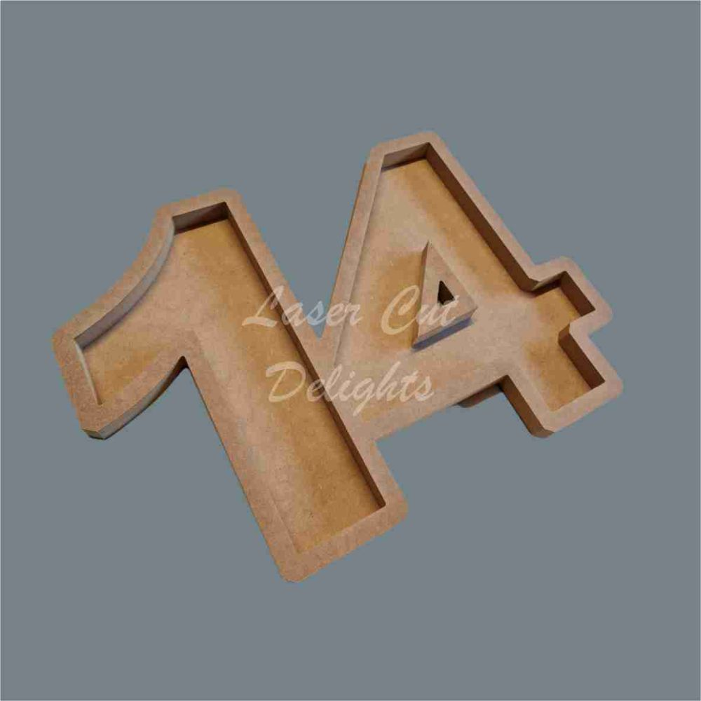 Open Fillable Letters and Numbers NO ACRYLIC