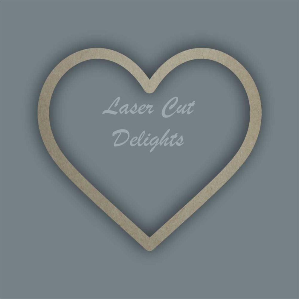 Heart Stencil / Laser Cut Delights
