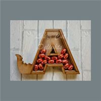 Fillable Any Letters or Numbers DINOSAUR (Original) / Laser Cut Delights