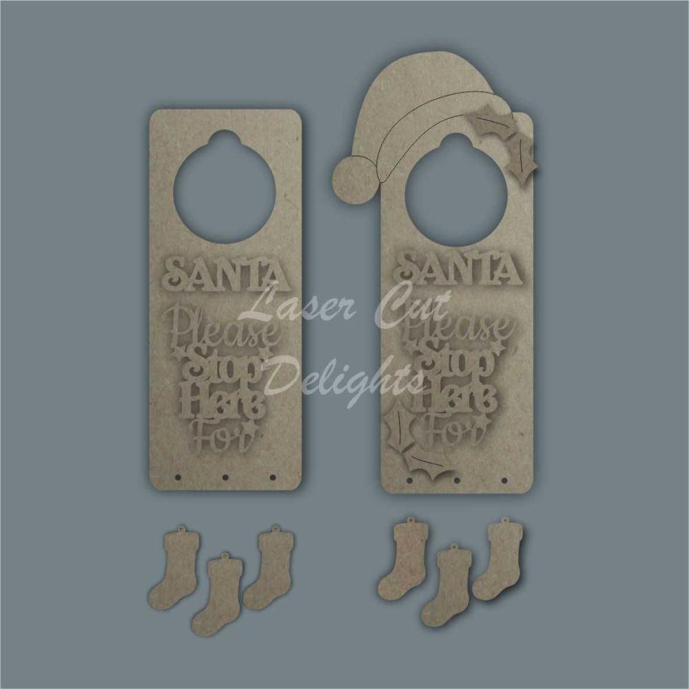 Christmas BASIC Door Hanger 25cm 3mm