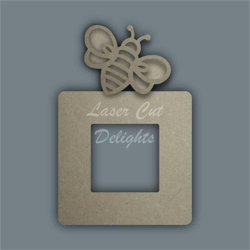 Stencil Layered Bee Light Surround / Laser Cut Delights