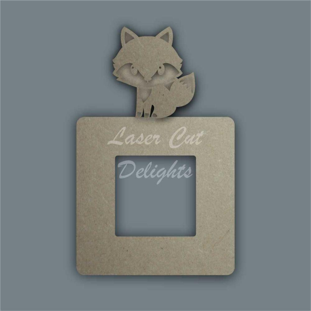 Stencil Layered Fox Light Surround / Laser Cut Delights