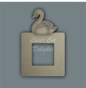 Stencil Layered Swan Light Surround / Laser Cut Delights