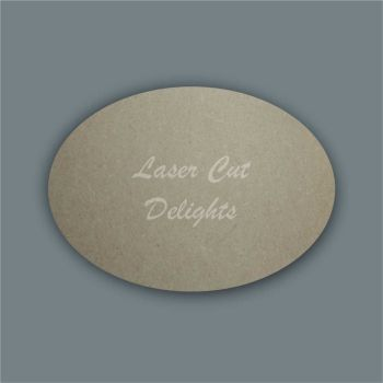 Oval Plaques / Laser Cut Delights