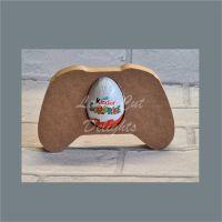 Chocolate Egg Holder 18mm - Games Controller / Laser Cut Delights
