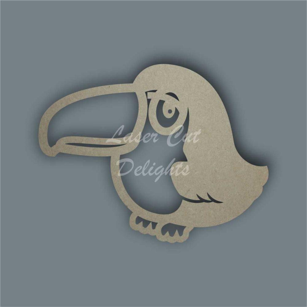 Toucan Stencil / Laser Cut Delights
