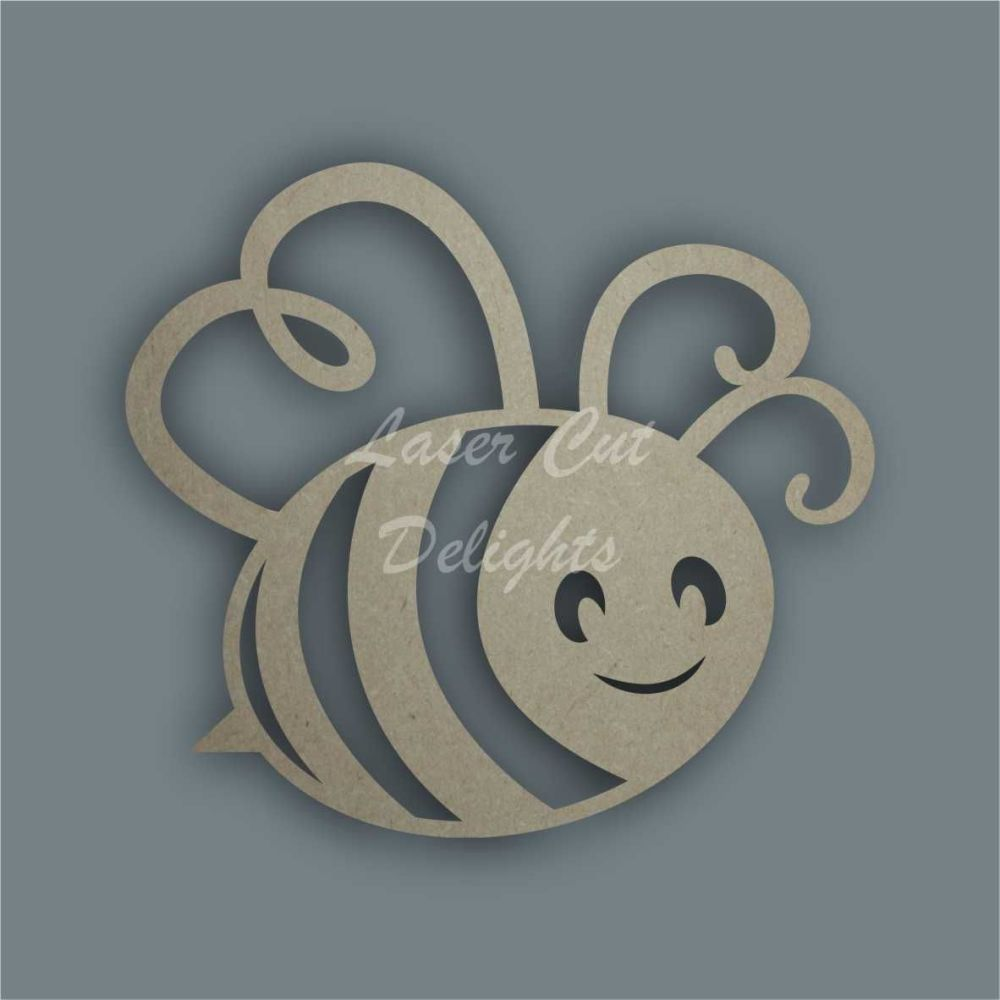 Bee Cute Stencil / Laser Cut Delights
