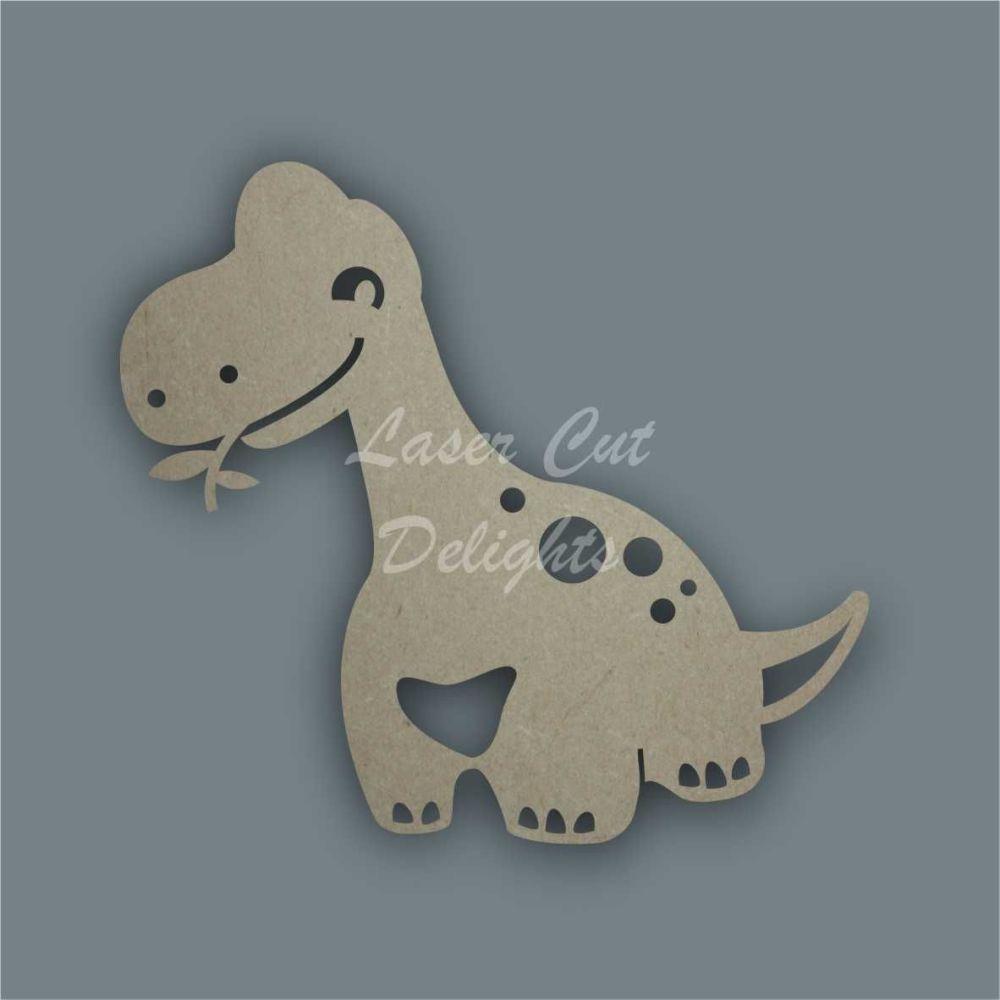 Dinosaur Long Neck Stencil / Laser Cut Delights