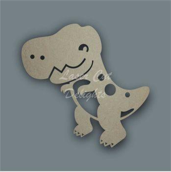 DinosaurT-Rex Stencil / Laser Cut Delights