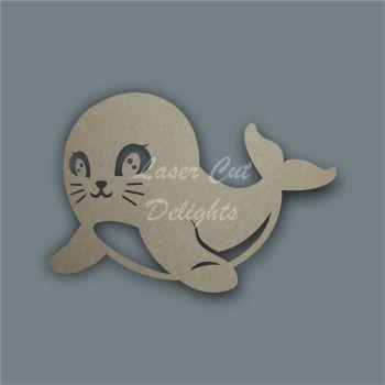Sea Lion Stencil / Laser Cut Delights