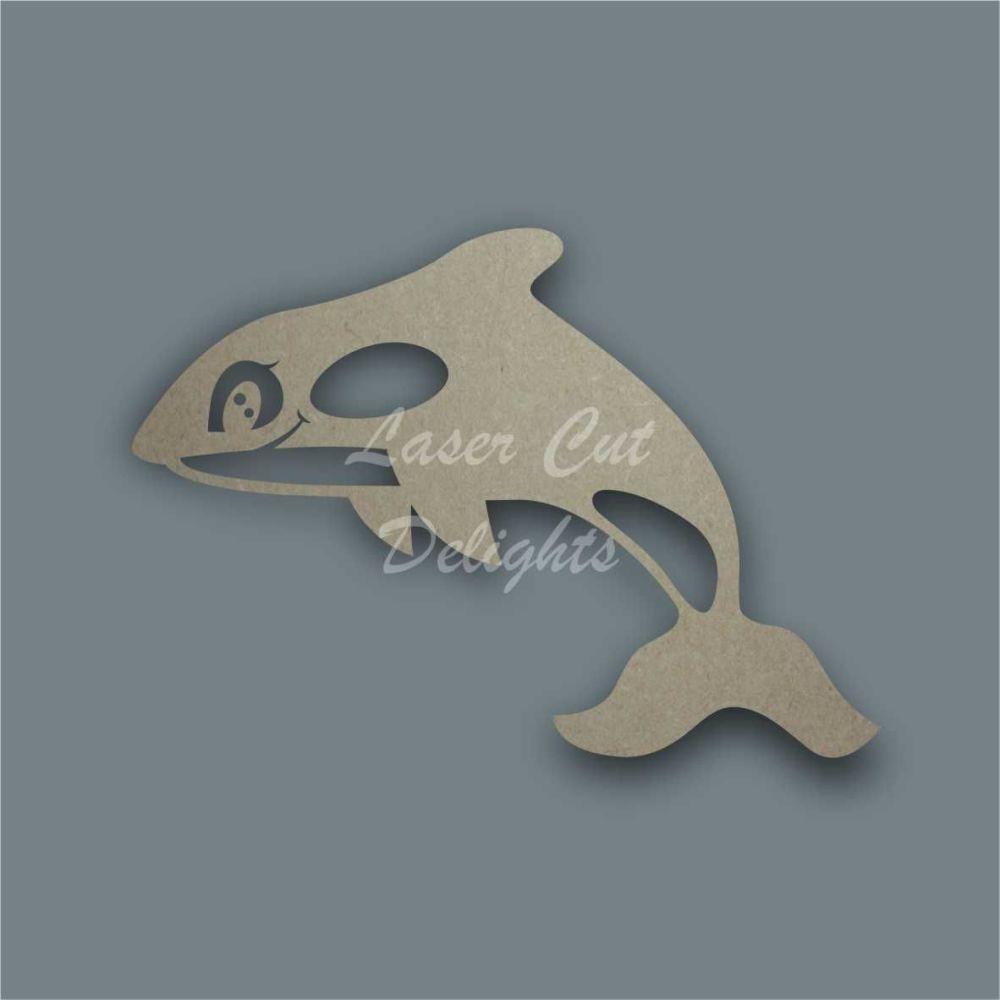 Orca Killer Whale Stencil / Laser Cut Delights