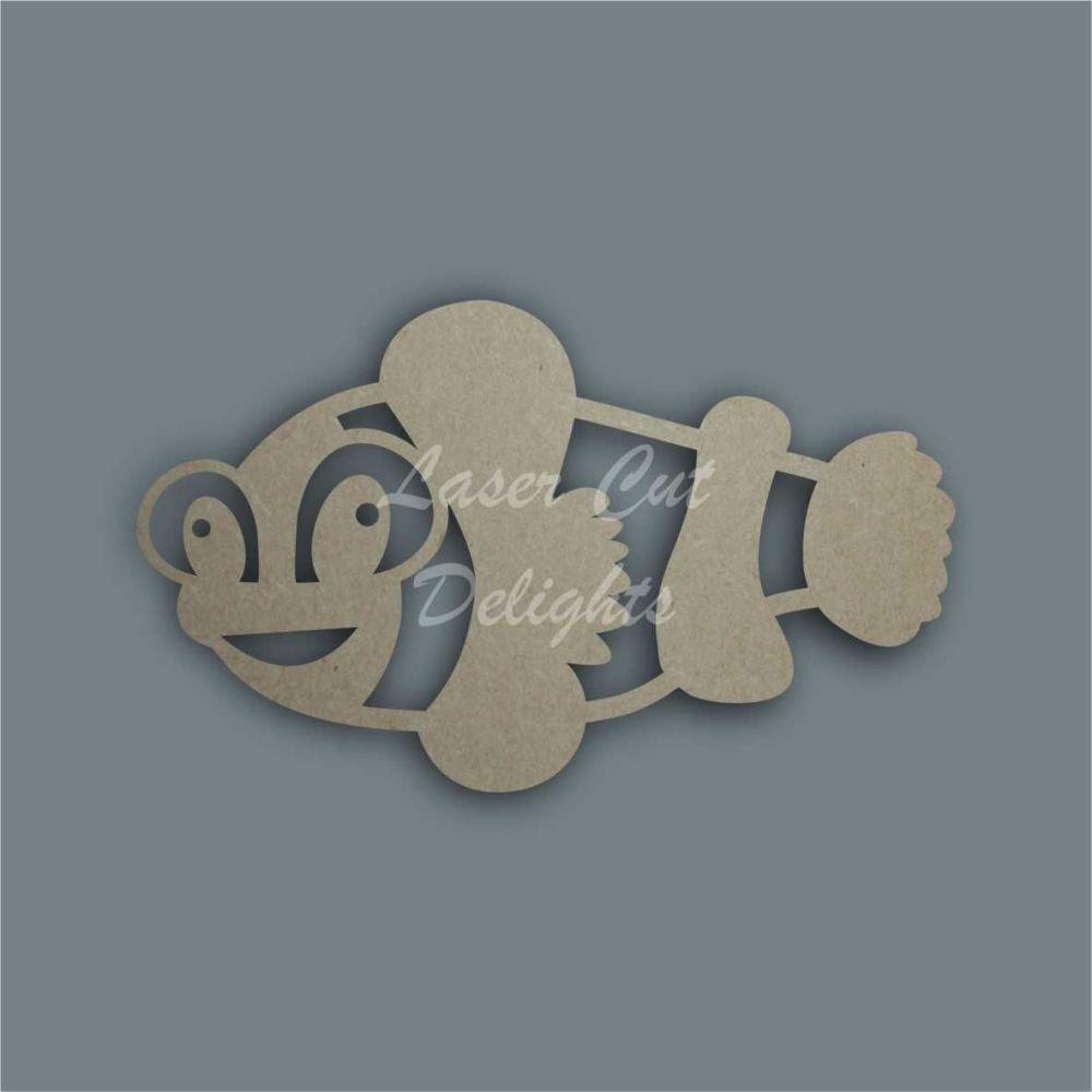 Clown Fish Stencil / Laser Cut Delights