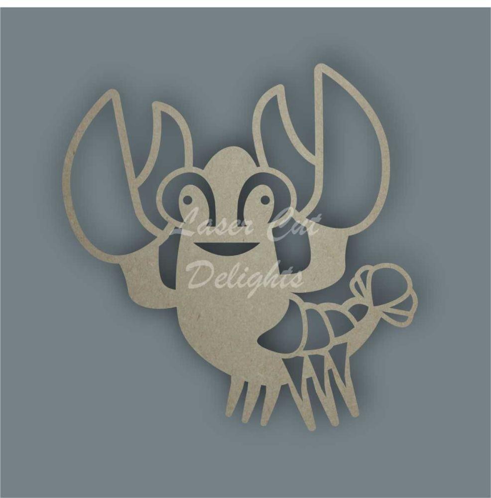Lobster Stencil / Laser Cut Delights