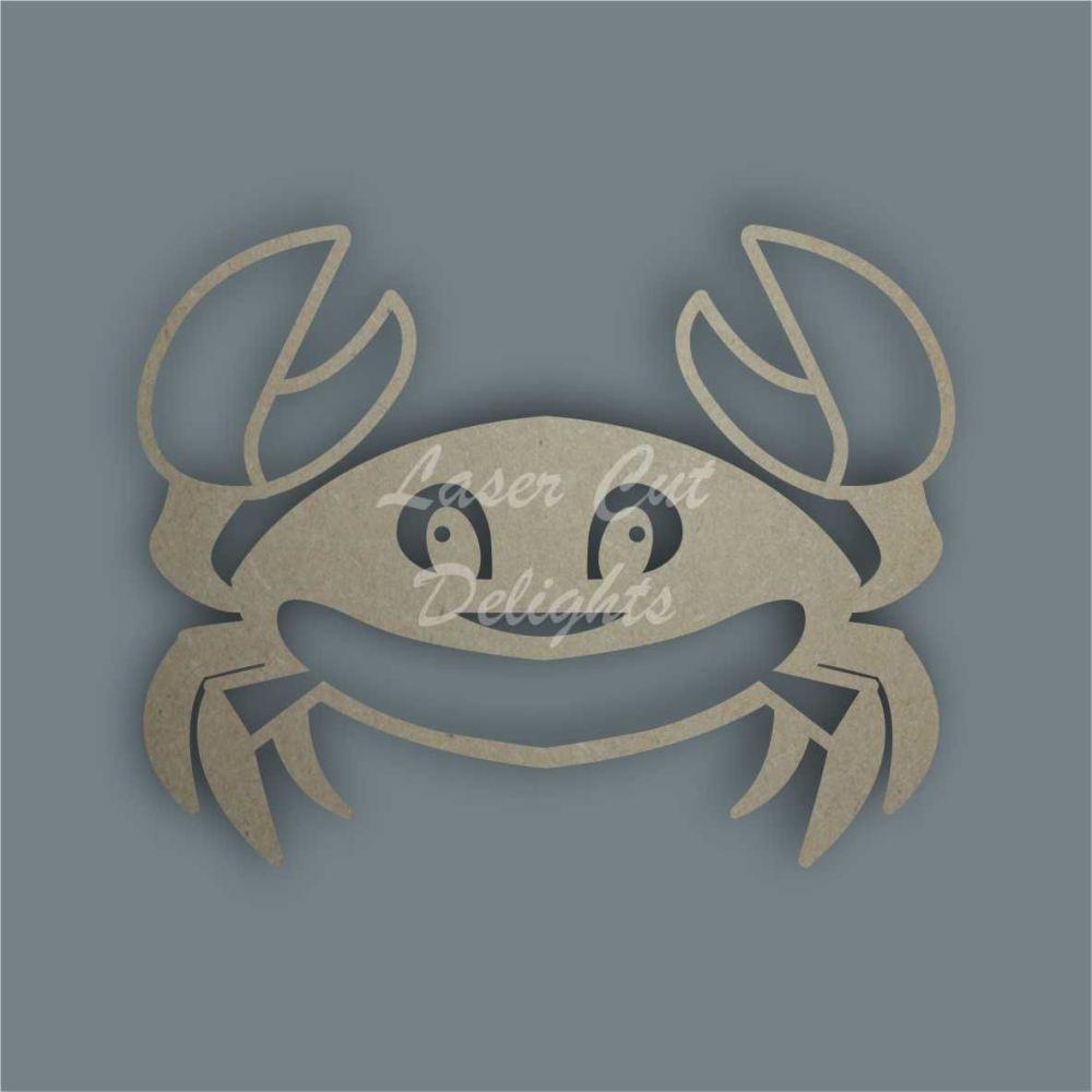 Crab Stencil / Laser Cut Delights