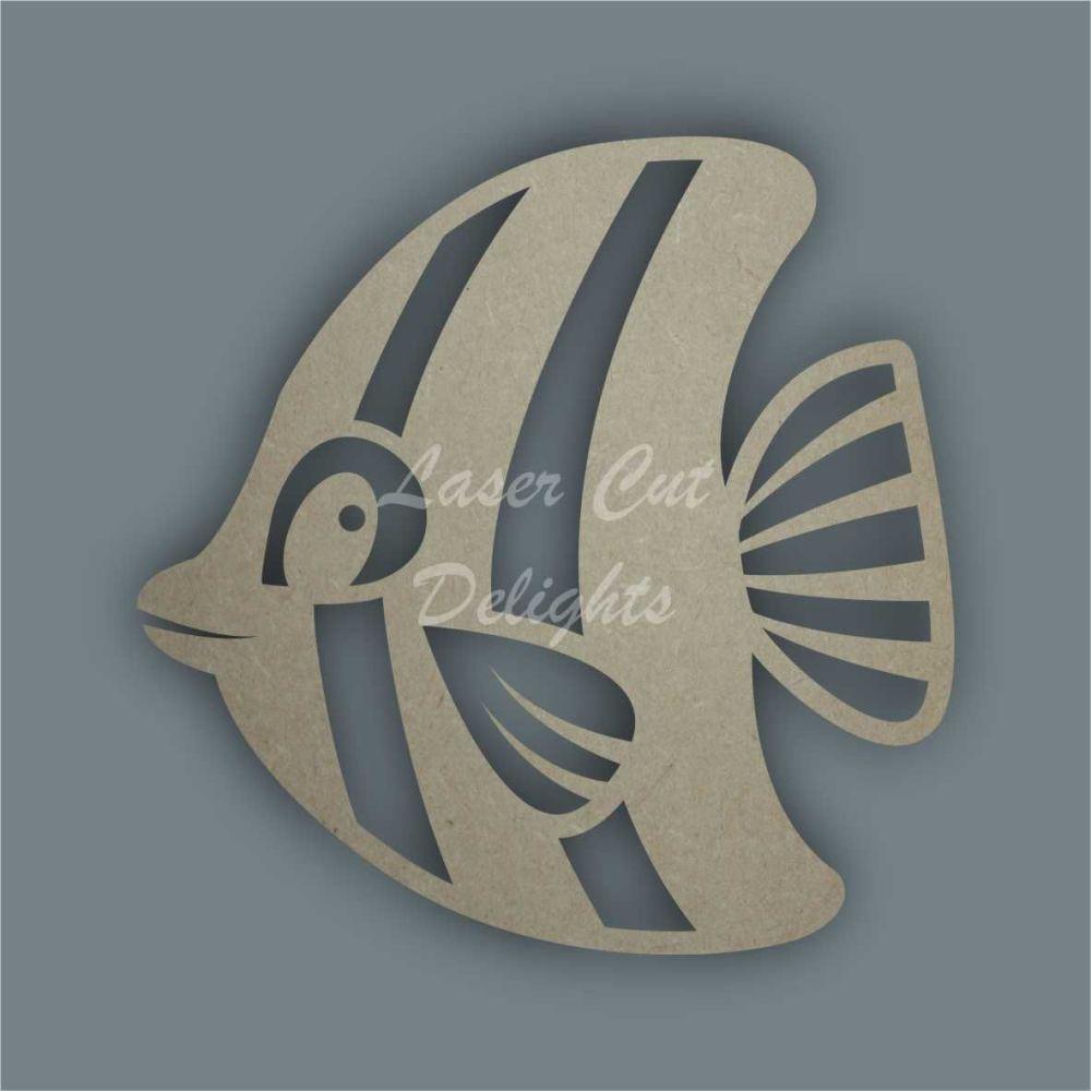 Angel Fish Stencil / Laser Cut Delights
