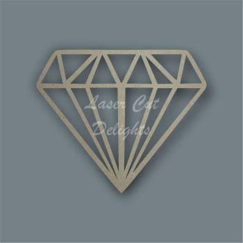 Diamond Stencil / Laser Cut Delights