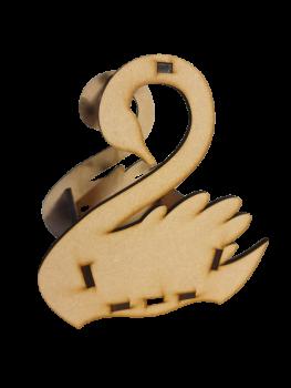 Easter Basket Swan / Laser Cut Delights