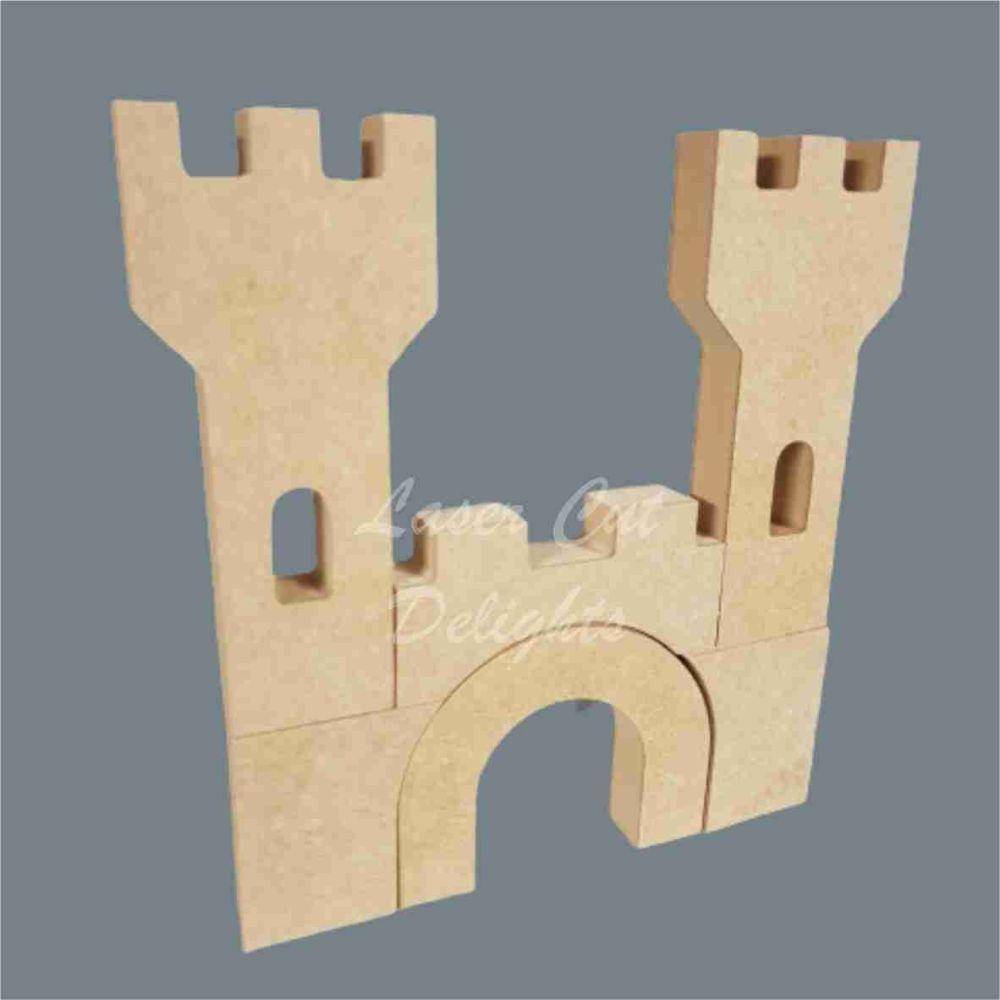 Puzzle Castle 18mm / Laser Cut Delights