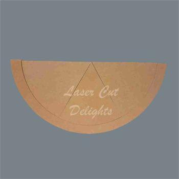 Puzzle Melon Slices 18mm / Laser Cut Delights