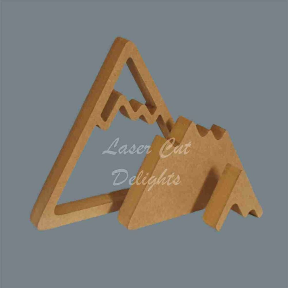 Puzzle Mountain Range Two / Laser Cut Delights