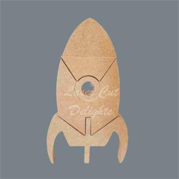 Puzzle Rocket 18mm / Laser Cut Delights