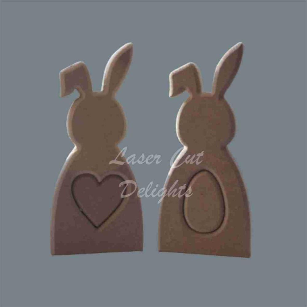 Shape in Rabbit / Laser Cut Delights