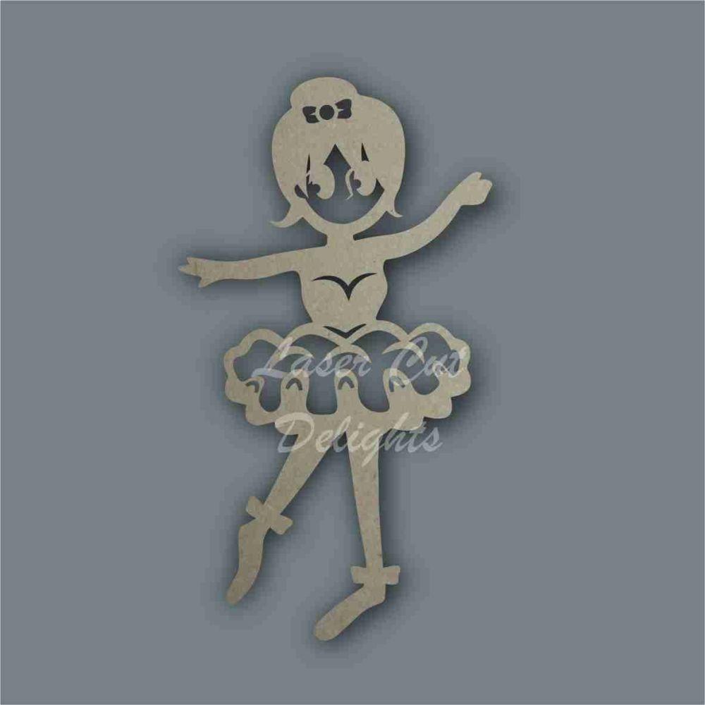 Ballerina Stencil / Laser Cut Delights