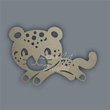 Cheetah Stencil / Laser Cut Delights