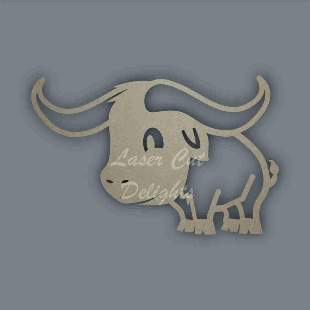 Buffalo Stencil / Laser Cut Delights