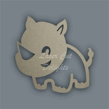 Rhino Stencil / Laser Cut Delights