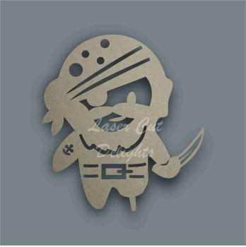 Pirate Stencil / Laser Cut Delights