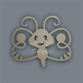 Butterfly Cute Stencil / Laser Cut Delights