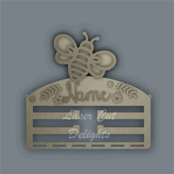 Combination Clip Bow Medal Hanger STENCIL BEE / Laser Cut Delights