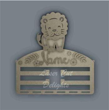 Combination Clip Bow Medal Hanger STENCIL LION / Laser Cut Delights