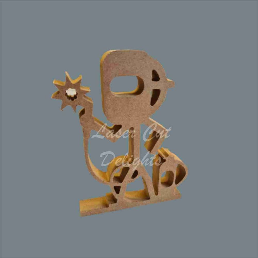 Stick Figure - Welder / Laser Cut Delights