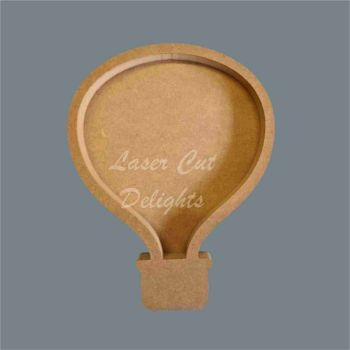 Open Fillable Hot Air Balloon (no acrylic) / Laser Cut Delights